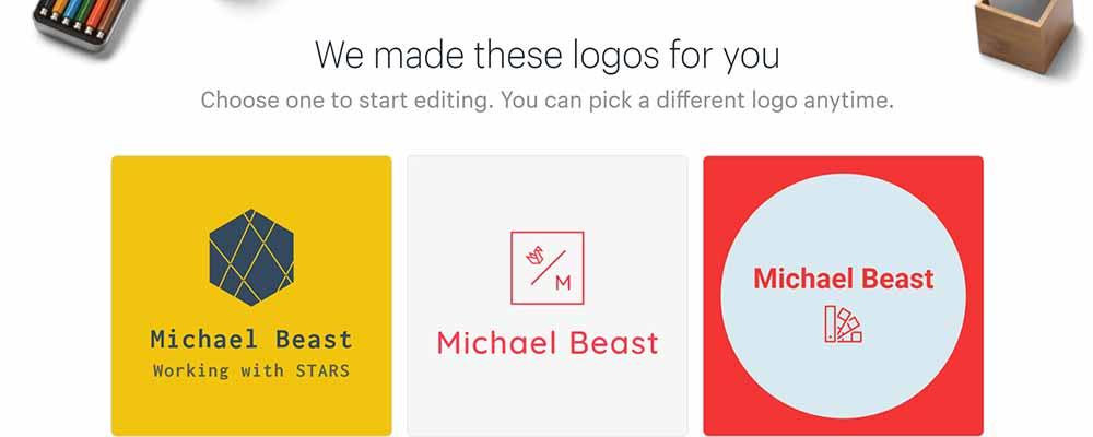 free-logotype-create-hatchful-branding-michael-beast