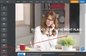 How to build free website with Weebly